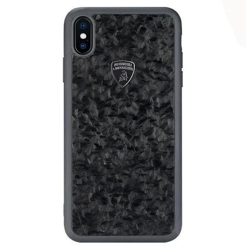 Lamborghini Genuine Huracan D14 Carbon Fiber Crafted Limited Edition Case For iPhone 11 Pro Max - Planetcart