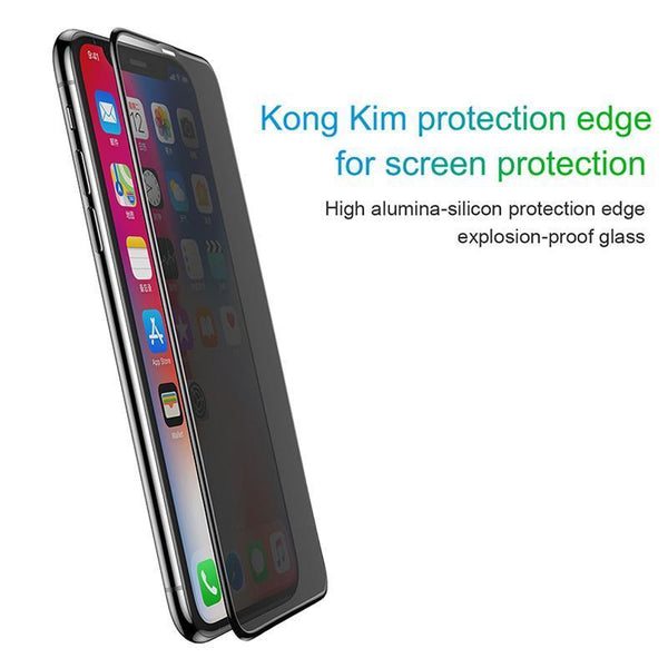 Baseus  Anti- Spy Privacy Tempered Glass Case For iPhone XR - Planetcart