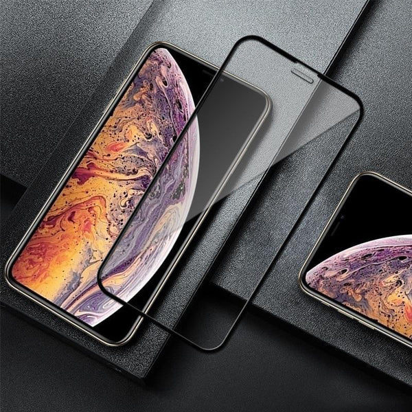 Original 5D Full Edges Cover Tempered Glass case For  iPhone XR - Planetcart
