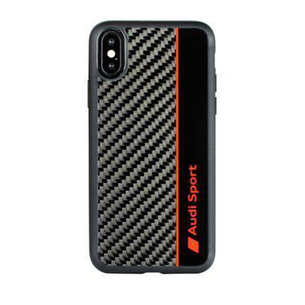 Audi R8 D1 Genuine Carbon Fiber Limited Edition Case For iPhone XS Max - Planetcart