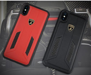 Lamborghini Huracan D6 Leather Crafted Limited Edition Case For iPhone XS Max - Planetcart