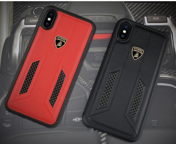 Lamborghini Huracan D6 Leather Crafted Limited Edition Case For iPhone XS Max