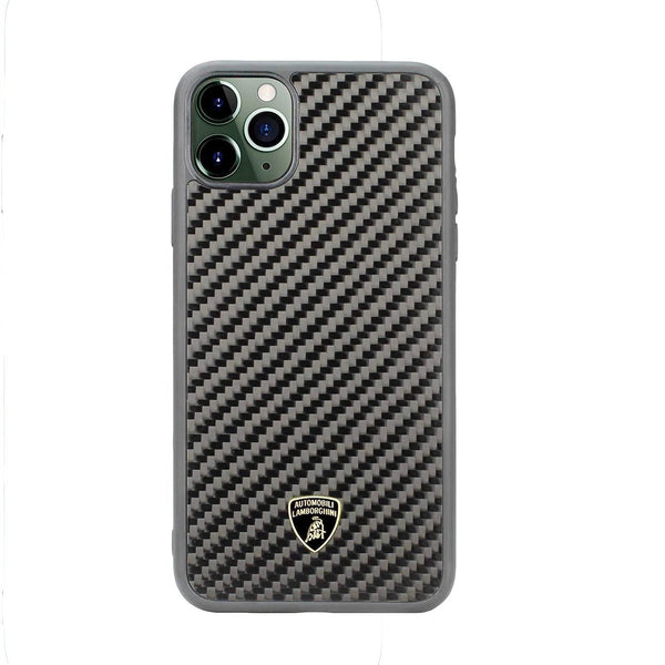 Lamborghini Genuine Elemento D3 Carbon Fiber Crafted Limited Edition Case For iPhone 11 Pro