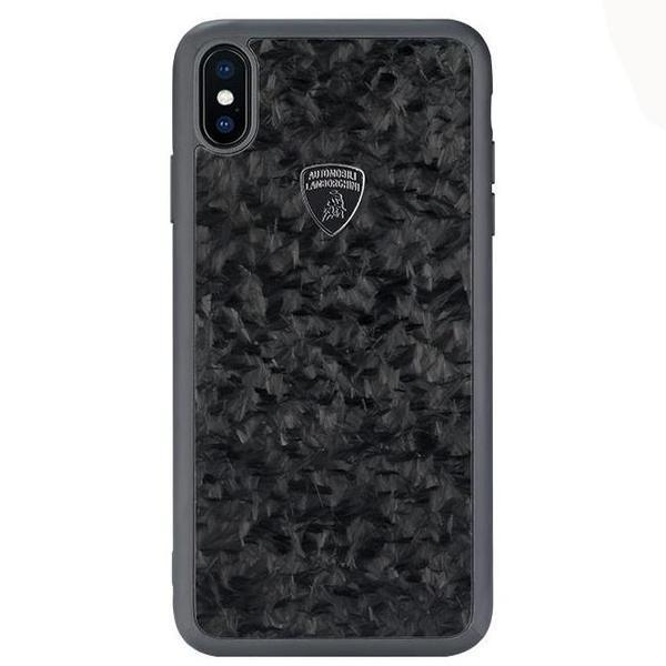 Lamborghini Genuine Huracan D14 Carbon Fiber Crafted Limited Edition Case For iPhone X/XS
