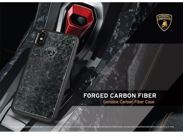 Lamborghini Genuine Huracan D14 Carbon Fiber Crafted Limited Edition Case For iPhone X/XS - Planetcart