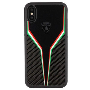 Lamborghini ® Genuine SC-D2 Carbon Fiber Crafted Limited Edition Case For Apple iPhone X/XS - Planetcart