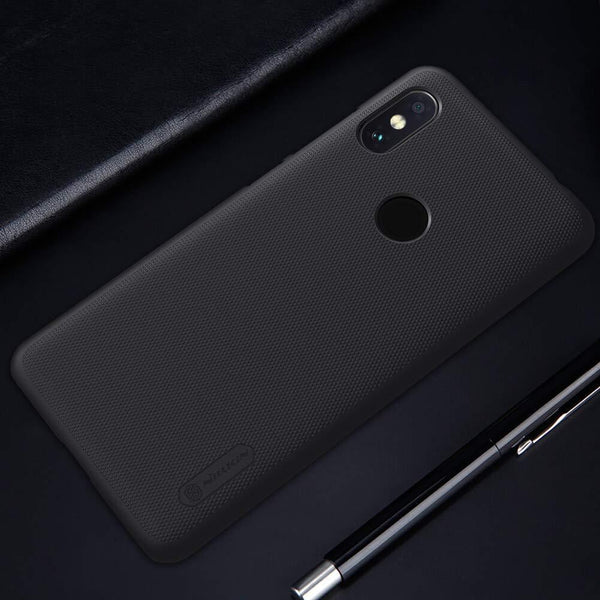 NILLKIN ® MI REDMI NOTE 6 PRO SUPER FROSTED SHIELD BACK CASE - Planetcart