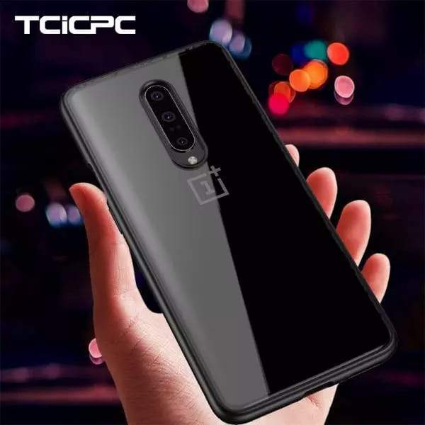 Hybrid Transparent Shock Proof Bumper Case For One Plus 7 Pro