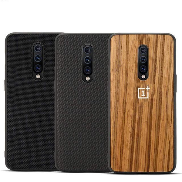 Premium Ultra Thin wooden Armour Case For One Plus 7 Pro