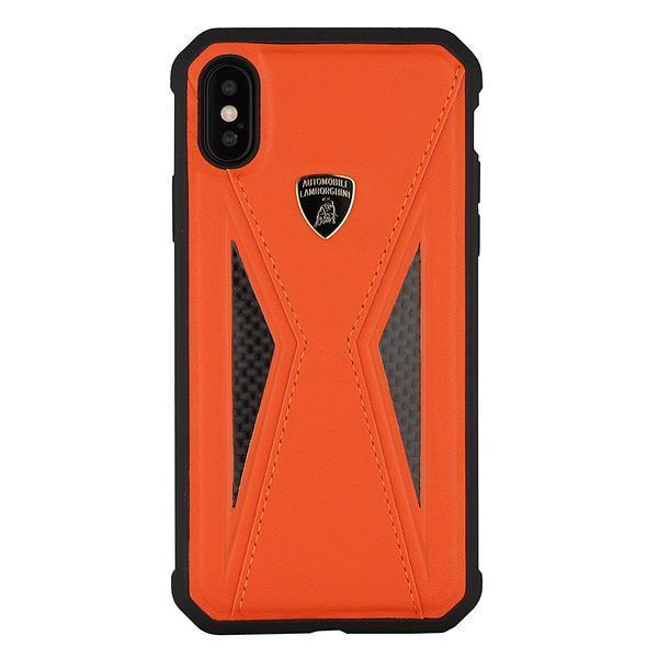 Lamborghini Genuine Aventador D8 Carbon Fiber And Leather Crafted Limited Edition Case For iPhone X/XS