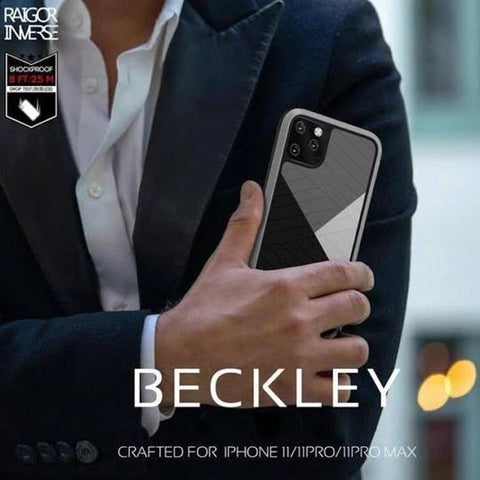 Raigor Inverse Shockproof Business Look Case For iPhone 11 Pro Max Beckly
