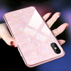 Dream Shell Textured Marble Case For iPhone X/XS