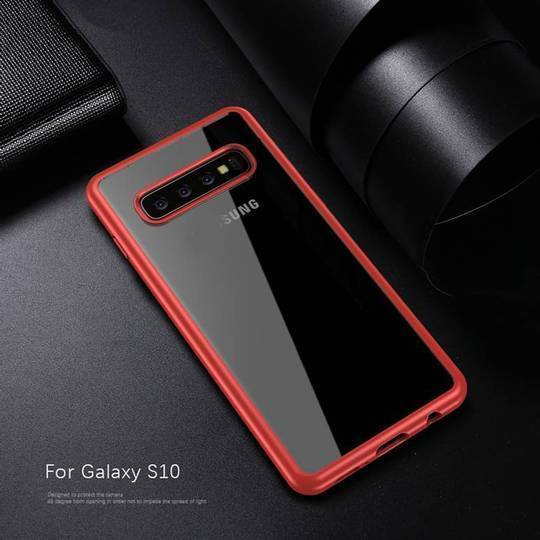 Hybrid Transparent Shockproof Bumper Case For Samsung Glaxy S10e - Planetcart