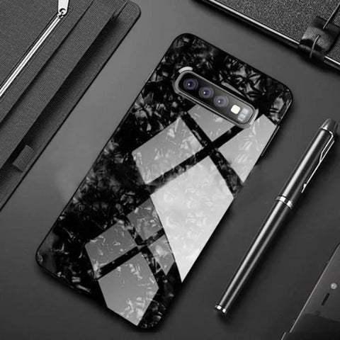 Dreamshell Textured Marble Case For Samsung Glaxy S10 Plus
