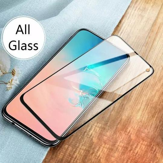 SAMSUNG GALAXY S10 5D TEMPERED GLASS SCREEN PROTECTOR [WITH IN-DISPLAY FINGERPRINT SENSOR] - Planetcart
