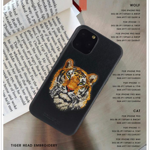 Santa Barbara Savana Series Genuine Leather Case For iPhone 11 Pro