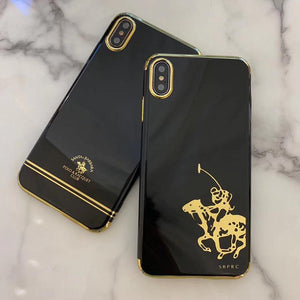 Santa Barbara Gatsby Series Genuine Leather Case For iPhone XS Max - Planetcart
