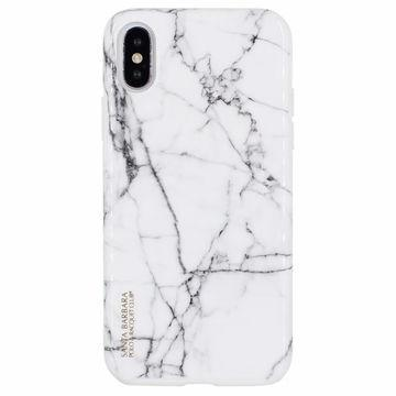 Santa Barbara Marbal Series Genuine Leather Case For iPhone XS Max - Planetcart