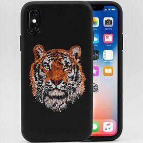 Santa Barbara Savana Series Genuine Leather Case For iPhone XS Max - Planetcart