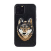 Santa Barbara Savana Genuine Leather Case for iPhone 11 Pro Max Wolf