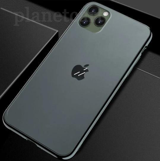 Soft Edge Matte Finish Glass Case For iPhone 11 Pro