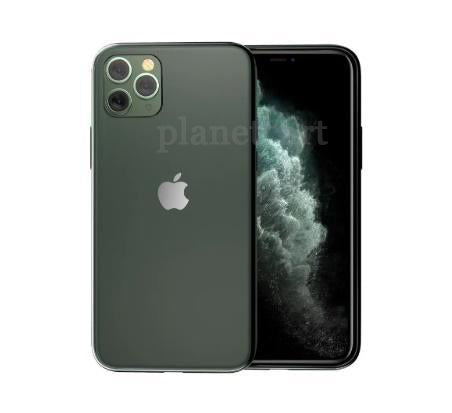 Special Edition Matte Finish Silicone Soft Edge Glass Case For iPhone 11 Pro - Planetcart