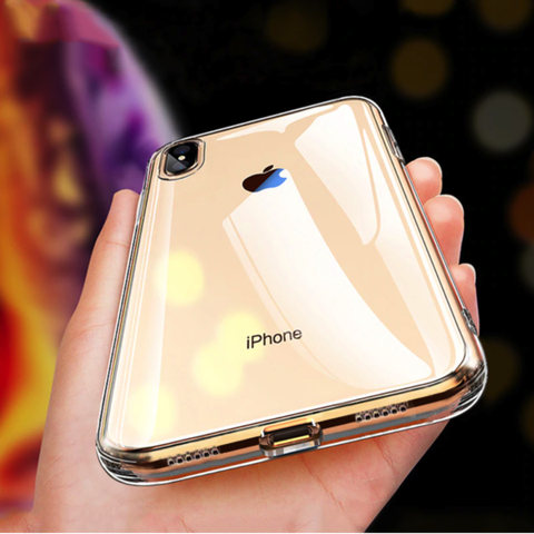 Totu Anti Sratch Clear soft Edge Case For iPhone XS Max - Planetcart