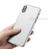 Baseus Ultra Slim Matte Paper Back Case For iPhone XS Max
