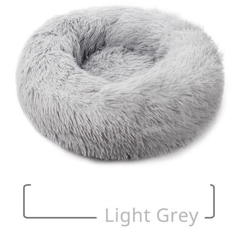 H2HS Round Plush, Warm Dog Bed