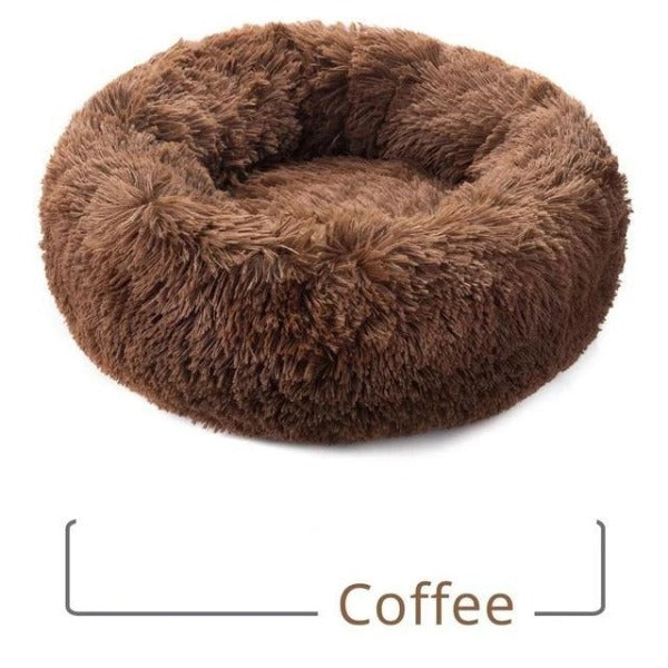 H2HS Round Plush, Warm Cat Bed.