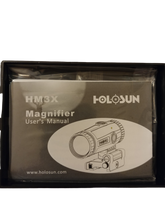 Load image into Gallery viewer, Holosun 3x Magnifier