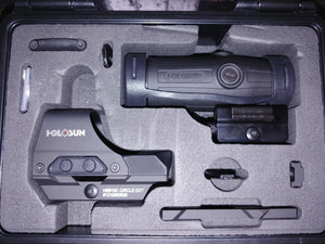 Holosun 510c with Magnifier