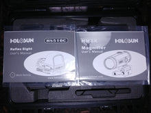 Load image into Gallery viewer, Holosun HS510C + HM3X Magnifier Combo + Carbon Fiber & Polycarbonate Cover