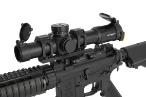 Primary Arms PLx 1-8x24mm FFP Rifle Scope - ACSS Raptor M2 5.56 / .308