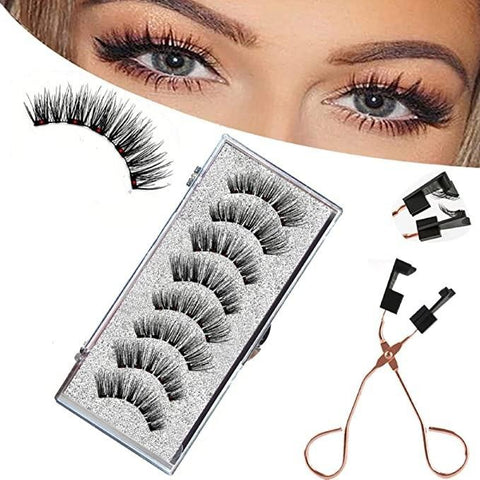 Magnetic Lashes without Liner