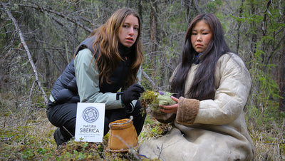 Wild-harvested ingredients from Natura Siberica farms in Siberia and across the world