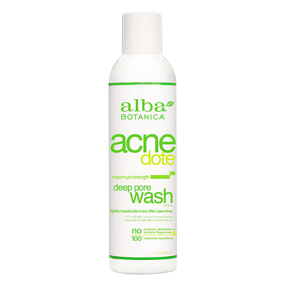 Alba-Botanica-Acne-Dote-Deep-Pore-Wash-177ml(9801)