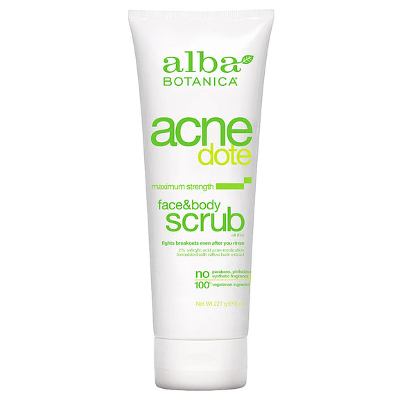 Alba-Botanica-Acne-Dote-Face-and-Body-scrub-227g(9805)