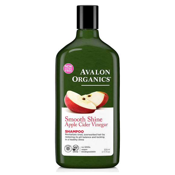 Avalon-Organics-Smooth-Shine-apple-cider-vinegar-shampoo-325ml(9121)