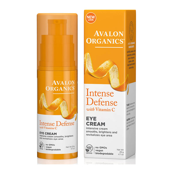 Avalon Organics Intense Defense Vitamin C Eye cream 29g(9473)