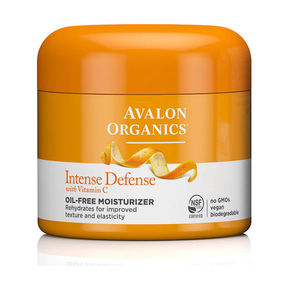 Avalon Organics Intense Defense Vitamin C Oil-free moisturiser 57g(9478)