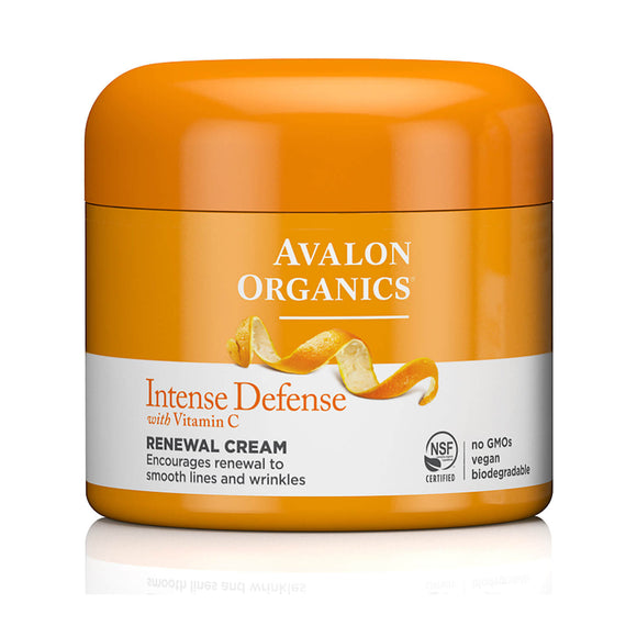 Avalon Organics Intense Defense Vitamin C Renewal Cream 57g(9474)