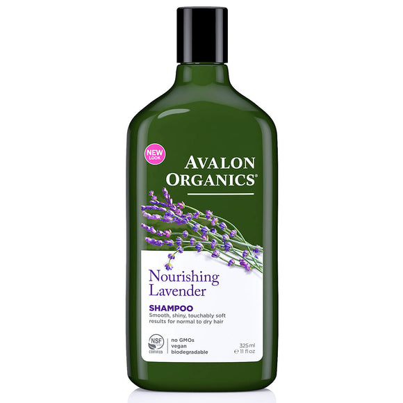 Avalon Organics Nourishing_Lavender Shampoo 325ml(9103)