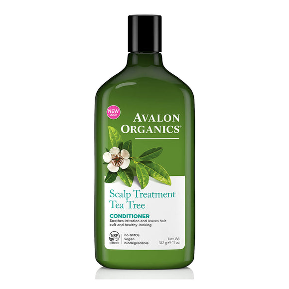 Avalon Organics Tea Tree Scalp Treatment-Conditioner 312g (9114)