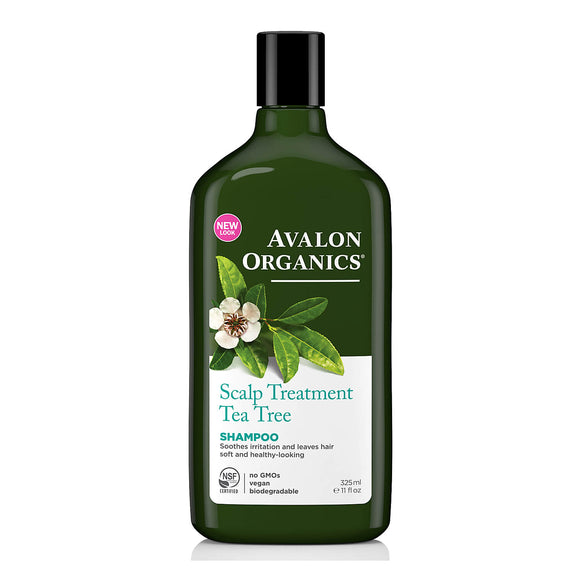 Avalon Organics Tea Tree Scalp Treatment Shampoo 325ml (9113)