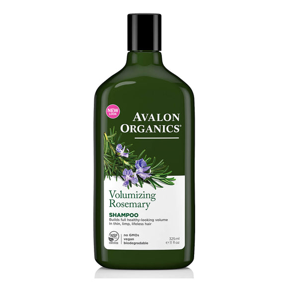 Avalon Organics Volumising Rosemary Shampoo 325ml(9109)