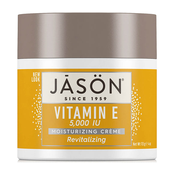 Jason Revitalizing Organic Vitamin E 5000 IU moisturizing cream 113g (0114)