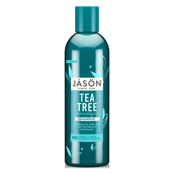 Jason Tea Tree Normalising Oil Therapy Shampoo 517ml (0032) for dry hair itchy scalp