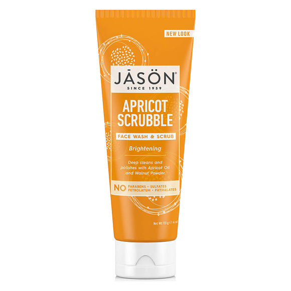 Jason brightening Apricot scrubble FACE WASH and SCRUB 113g (0304)