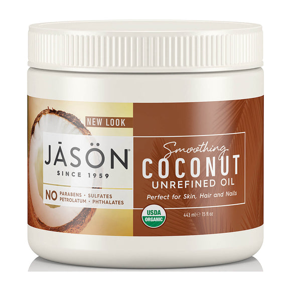 Jason Unrefined Smoothing COCONUT OIL